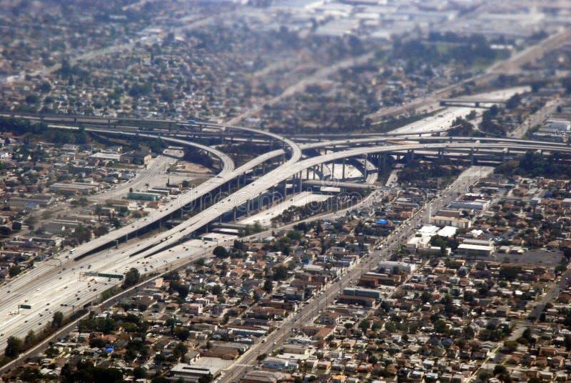 Llegada a Los Ángeles foto de archivo libre de regalías