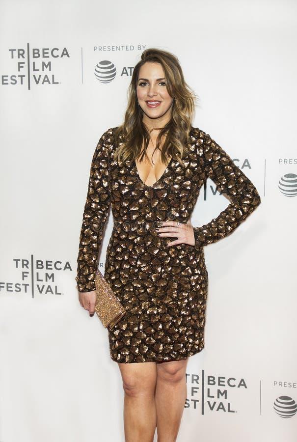 Llegadas en el festival de cine 2017 de Tribeca imagen de archivo