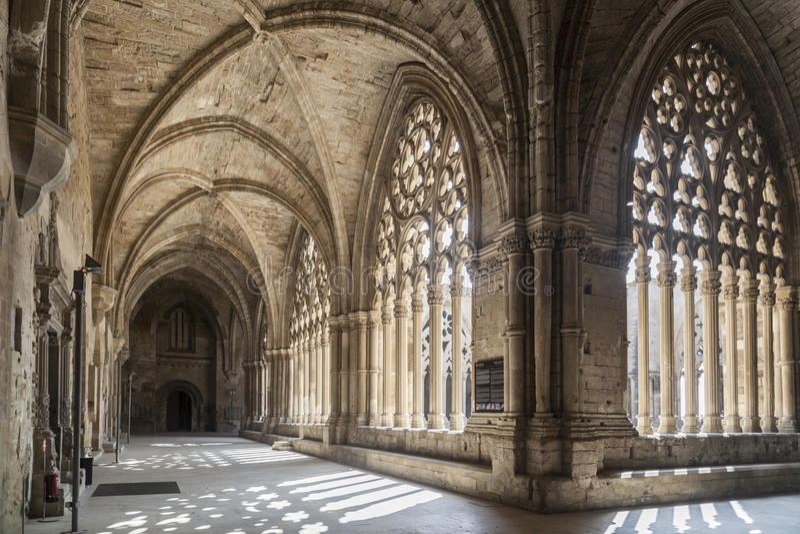 Lleida, Catalonia, Hiszpania fotografia royalty free