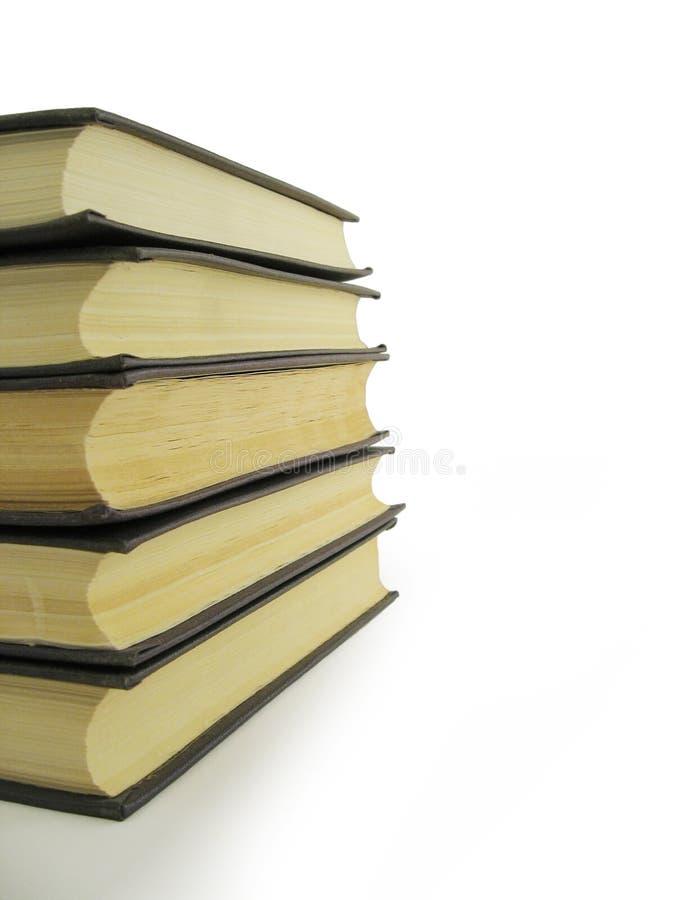 Llene los libros fotografía de archivo libre de regalías