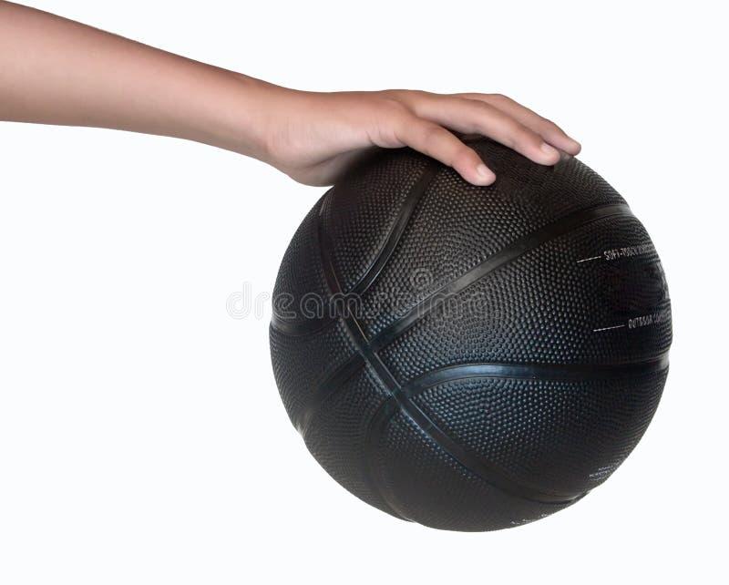 Llevar a cabo un baloncesto imagen de archivo