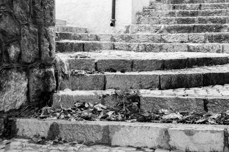 Lleve el centro del pueblo, Villetta Barrea, Abruzos, AIE foto de archivo