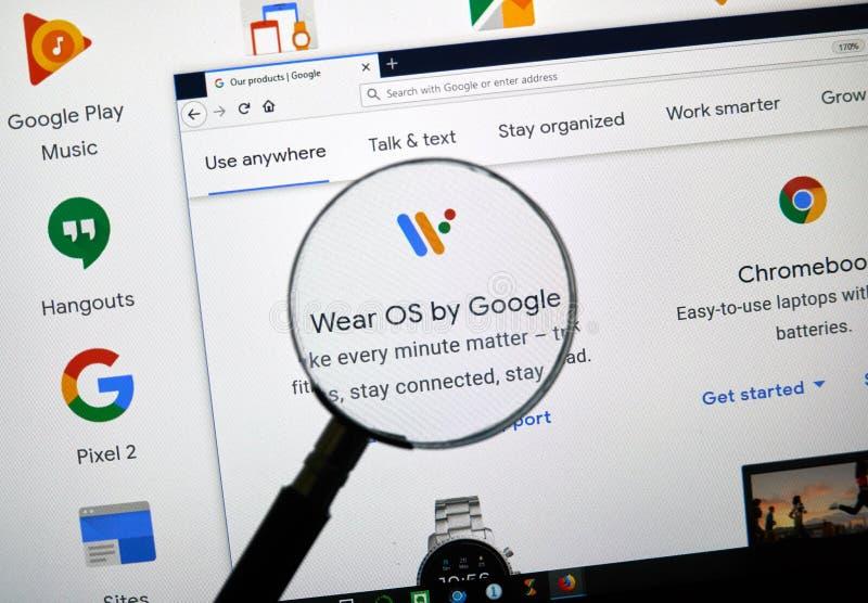 Lleve el OS por Google fotografía de archivo libre de regalías