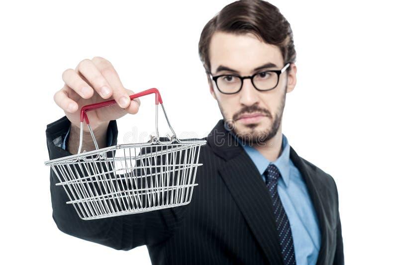 Lleve su negocio el nivel del comercio electrónico imagen de archivo libre de regalías