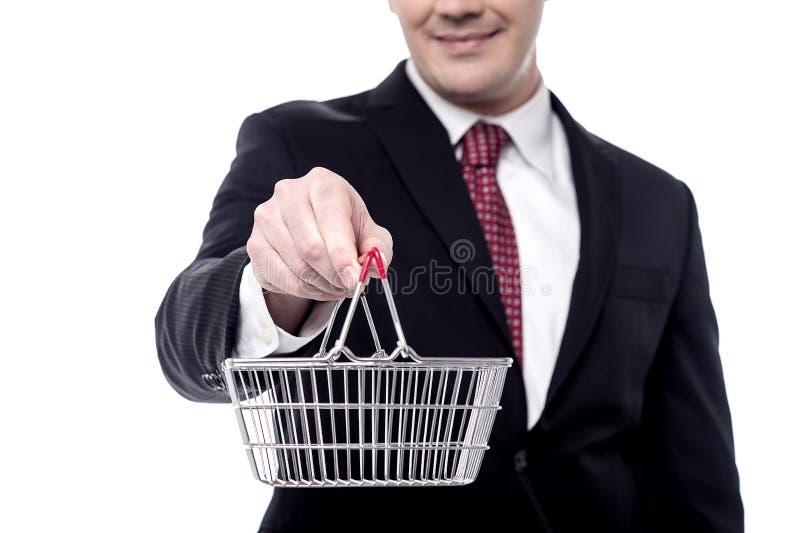 Lleve su negocio el nivel del comercio electrónico fotos de archivo