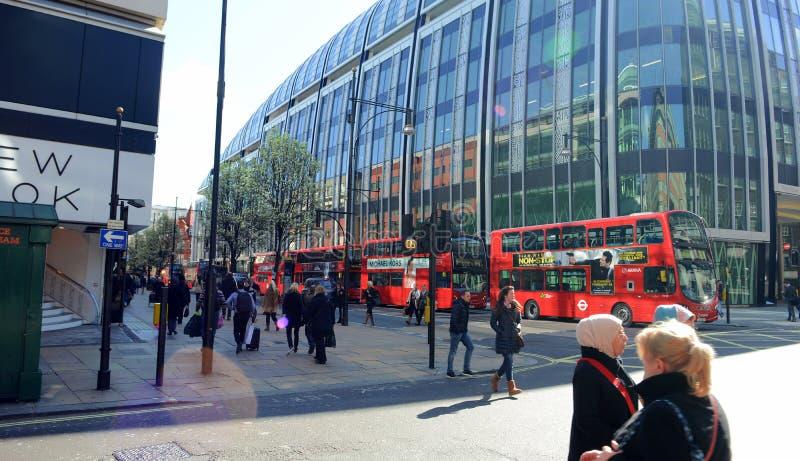 Llifestyle w Londyn obrazy royalty free