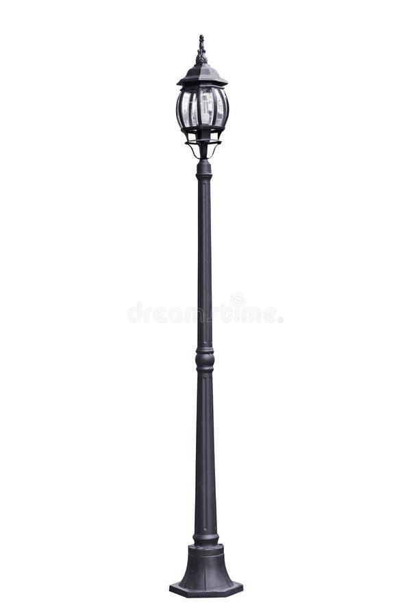 Llight pole isolated. stock photos