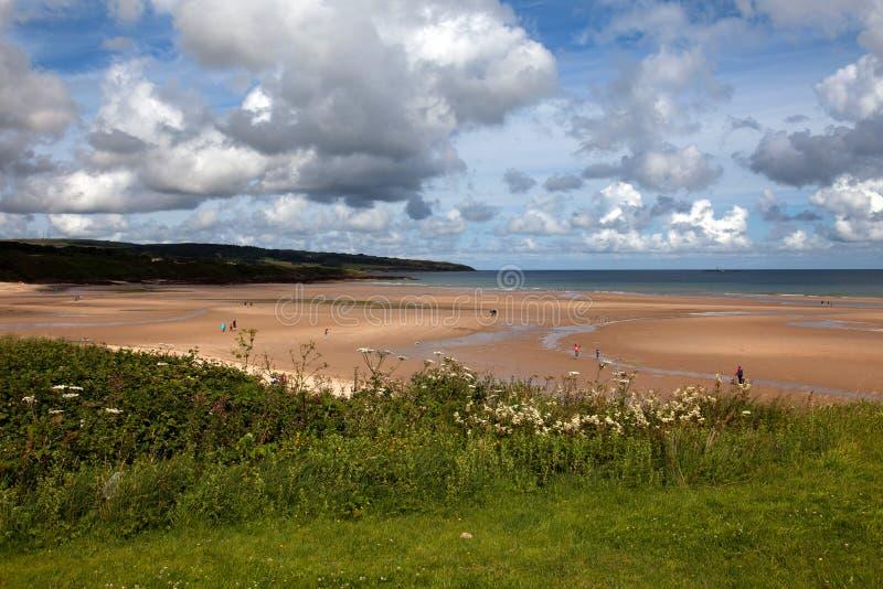 Lligwy海滩 免版税库存照片