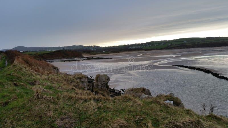lligwy的海滩 免版税库存照片