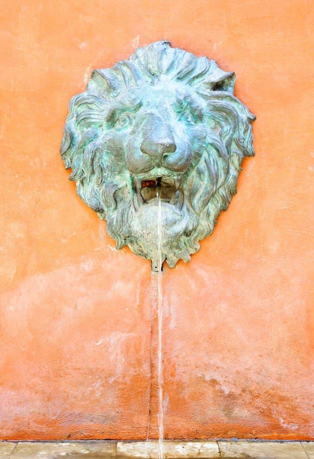 Llion fountain stock images