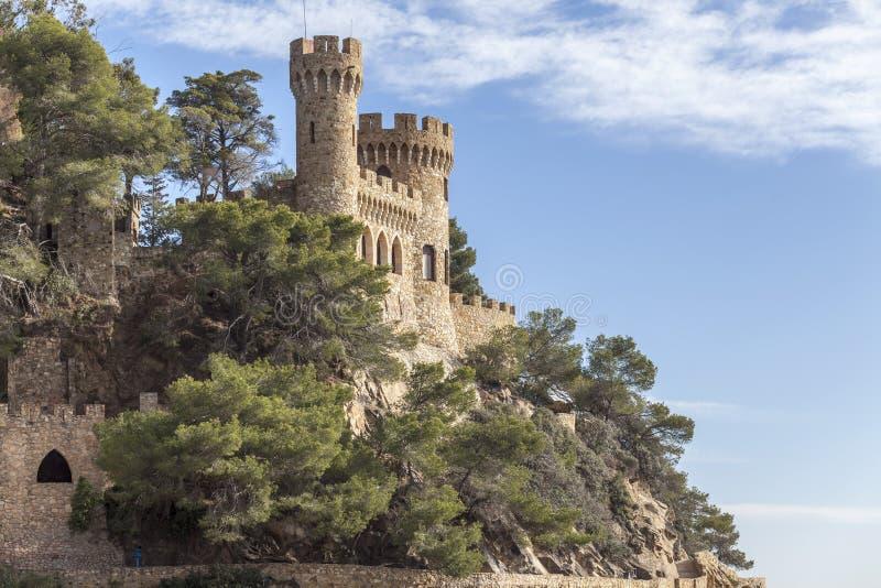 Lloret de Mar, Catalonia, Espanha imagens de stock