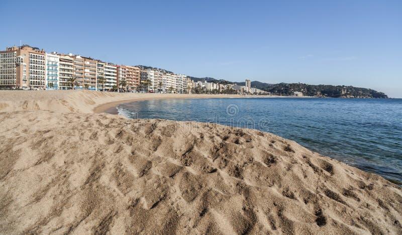 Lloret de Mar Catalonia, Spanien arkivfoton