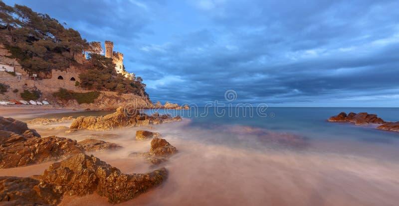 Download Lloret De Mar, Costa Brava, Spain Royalty Free Stock Image - Image: 25287986
