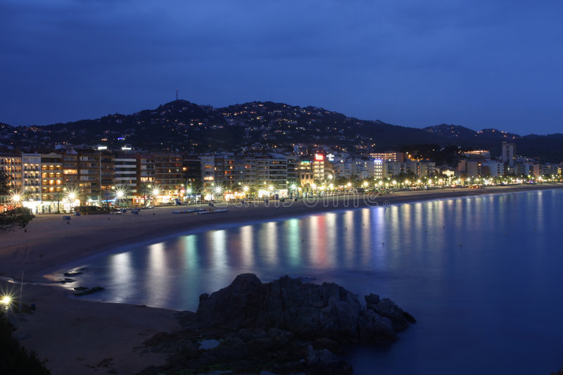 Lloret de Mar(Spain) royalty free stock photography