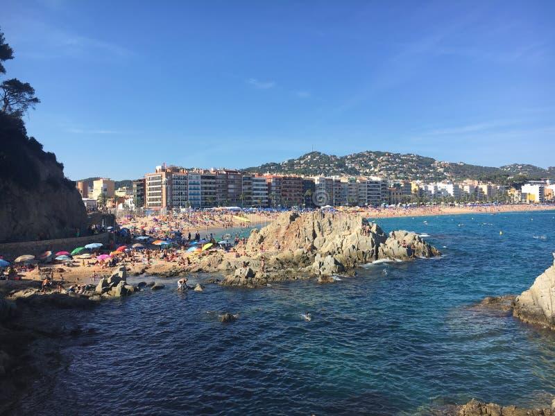 Lloret de mar, Spain royalty free stock image