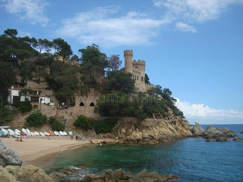 Lloret de Mar, ville photographie stock