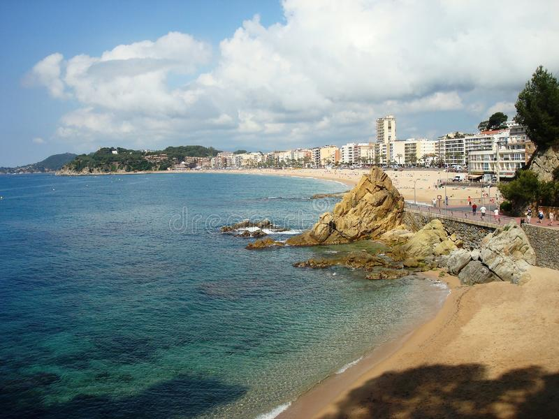 Lloret de Mar, ville images stock