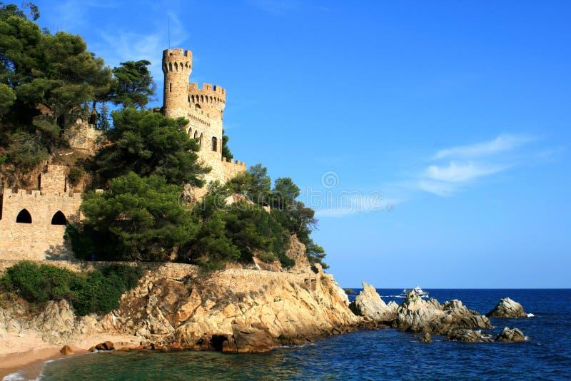 Download Lloret de marzo Spagna immagine stock. Immagine di castello - 3131521