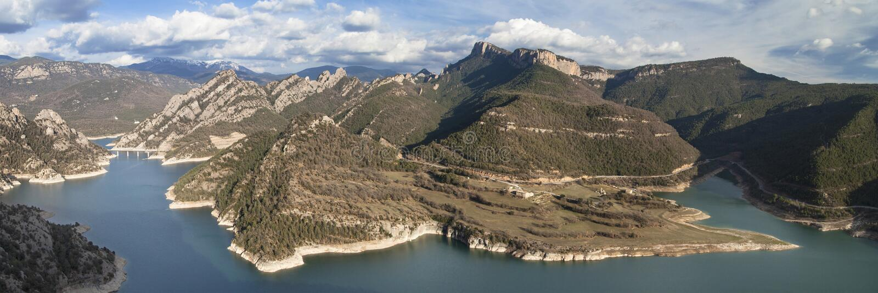 Llosa del Cavall Reservatório foto de stock royalty free