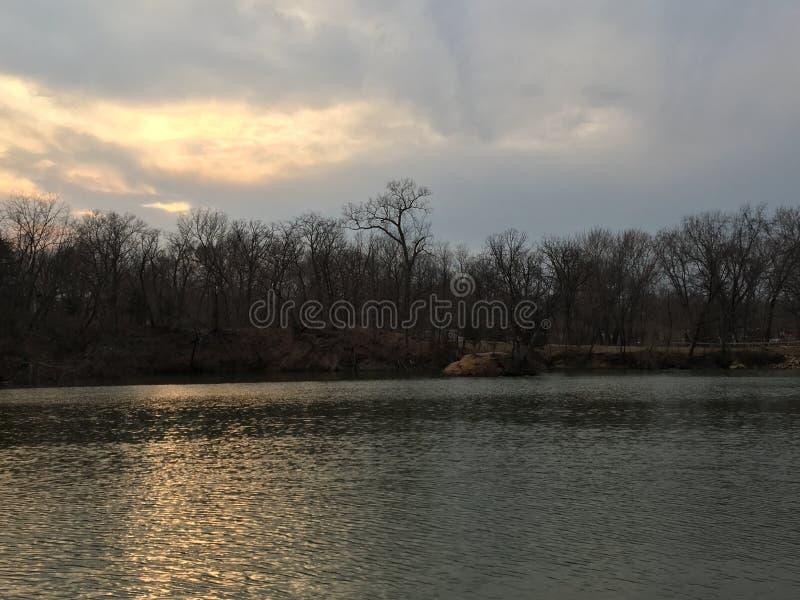 Llovido del cielo imagen de archivo