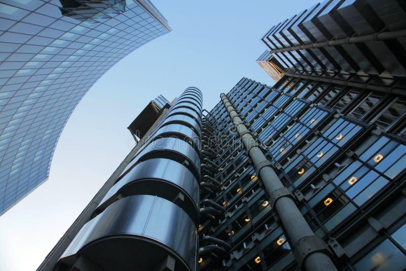 The Lloyd Building stock image