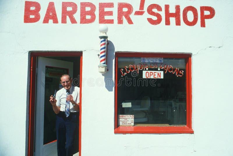 Lloyd el peluquero fotografía de archivo