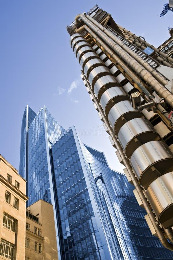 Lloyd Gebäude, London lizenzfreies stockbild