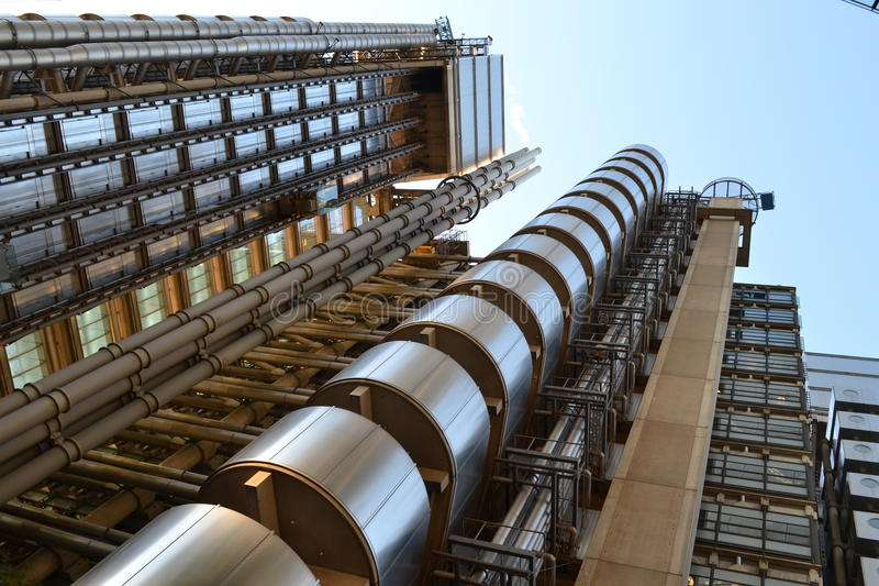 Lloyd's building exterior royalty free stock image