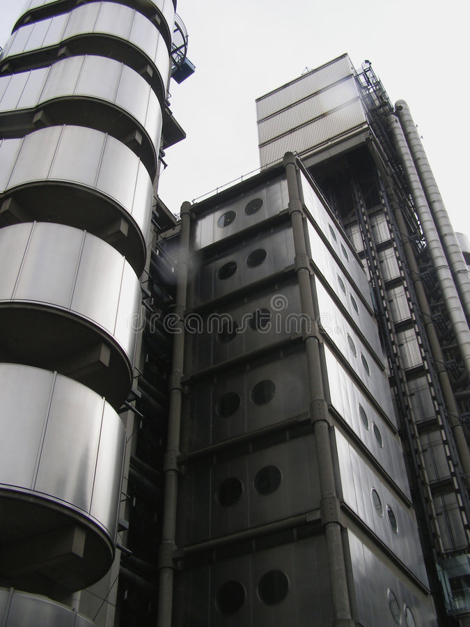 LLoyds. Building royalty free stock images