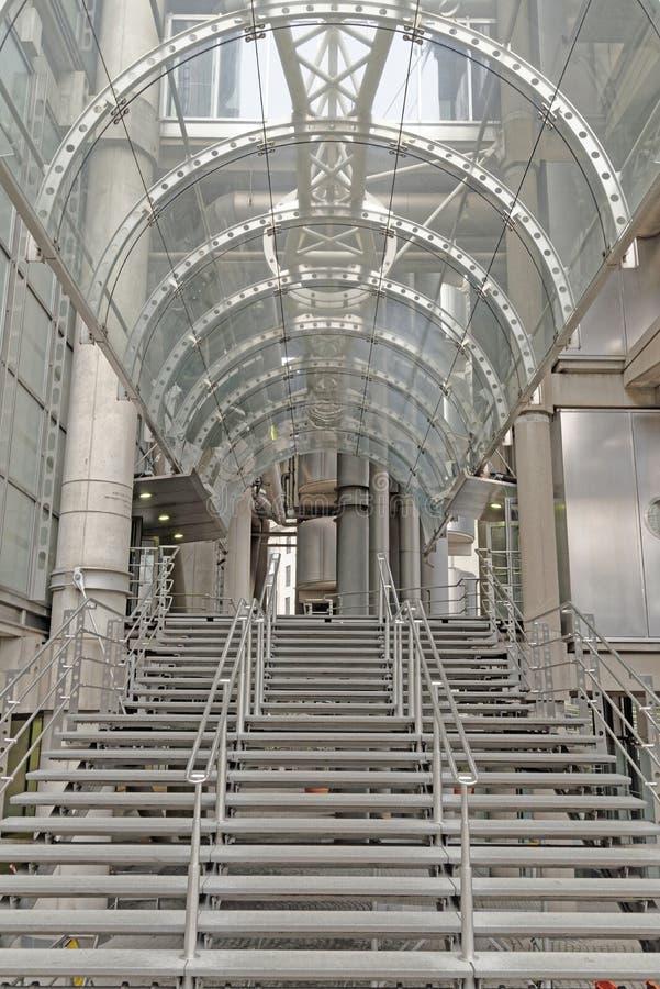 Lloyds budynku wejście obrazy royalty free