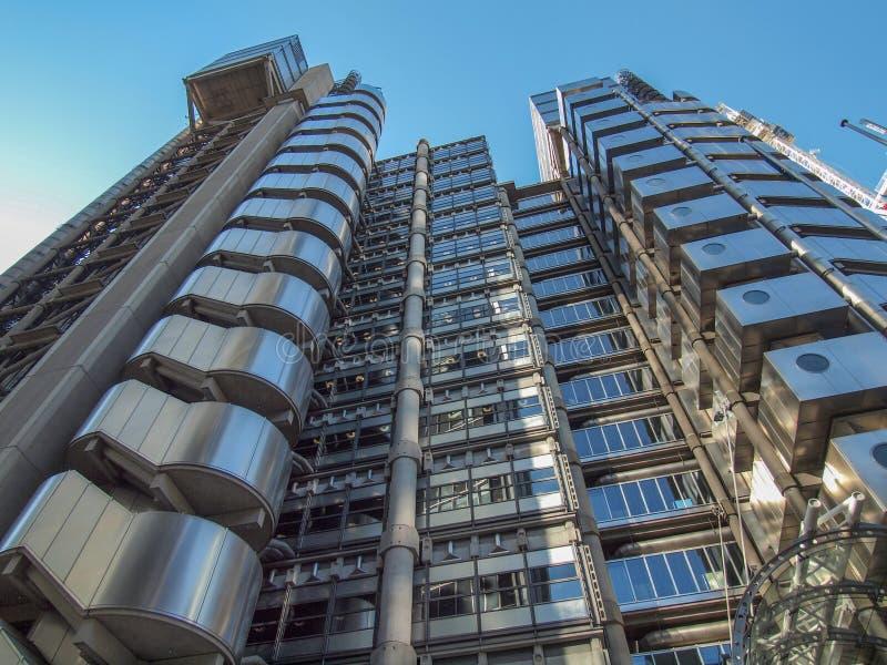 Lloyds du bâtiment de Londres photos stock