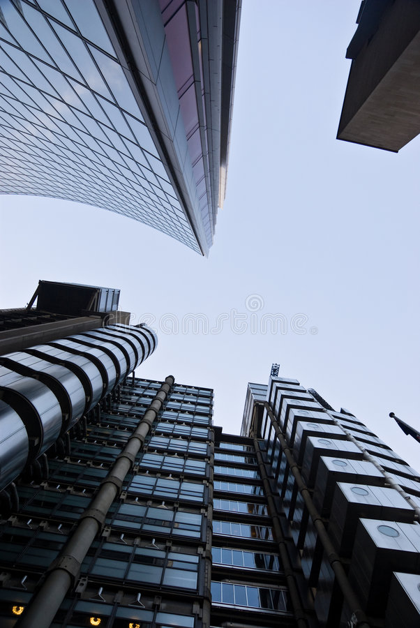Lloyds towers royalty free stock image