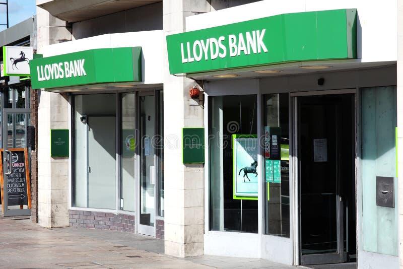 Lloydsbank royalty-vrije stock fotografie