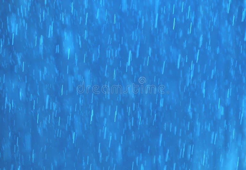 Lluvia azul fotos de archivo libres de regalías