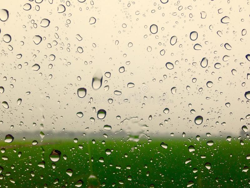 Lluvia de cristal imagen de archivo