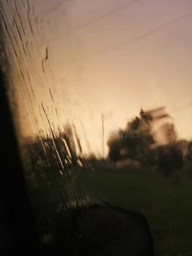 Lluvia imagen de archivo