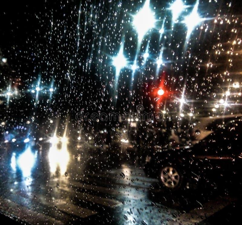 Lluvia que llora para mí imagenes de archivo