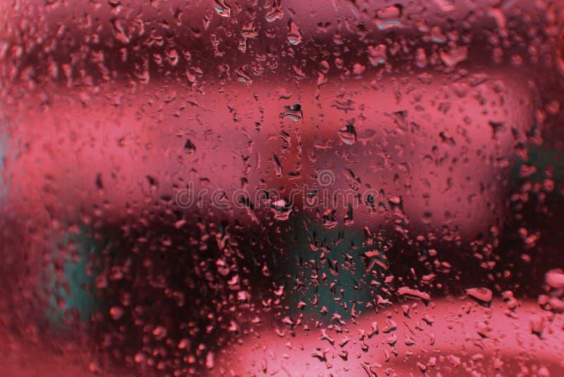 Lluvia roja del destino imagen de archivo libre de regalías