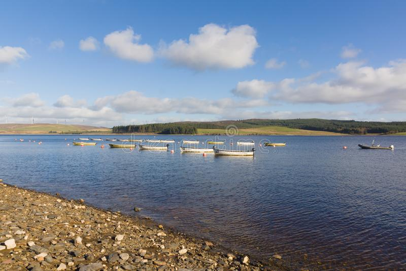 Llyn Brenig Reservoir stock image