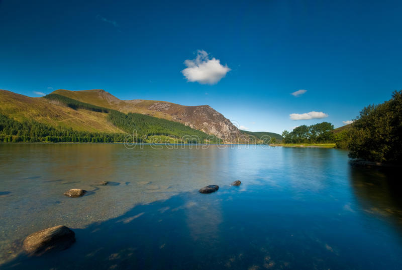 Llyn Cwellyn royalty free stock images