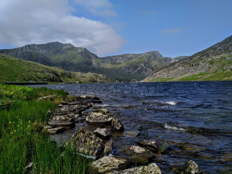 Llyn Ogwen, Snowdonia, 库存照片