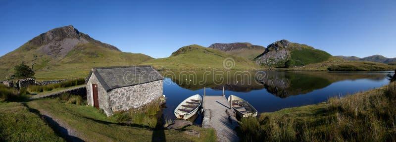 Llyn Y Dywarchen fotografie stock