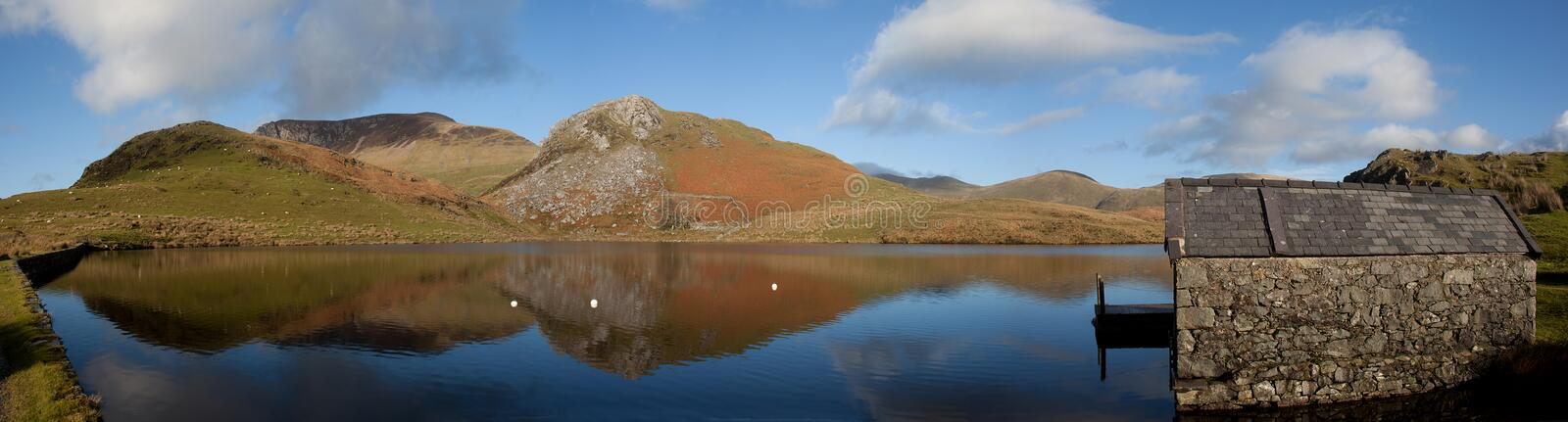 Download Llyn Y Dywarchen A Fishing Lake Stock Image - Image: 17099693