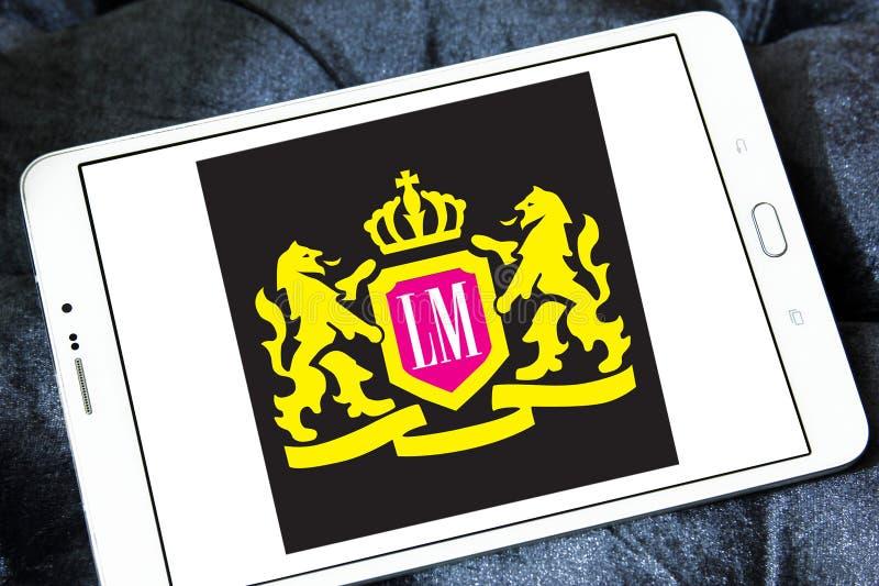 LM het embleem van het sigarettenbedrijf stock afbeelding