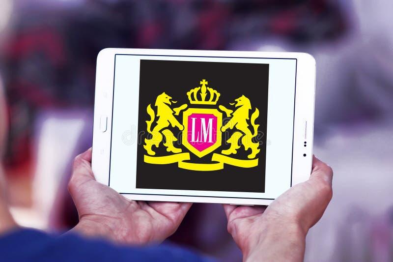 LM het embleem van het sigarettenbedrijf royalty-vrije stock fotografie