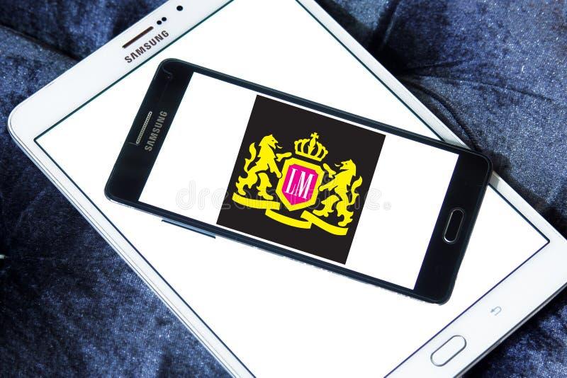 LM het embleem van het sigarettenbedrijf royalty-vrije stock afbeeldingen