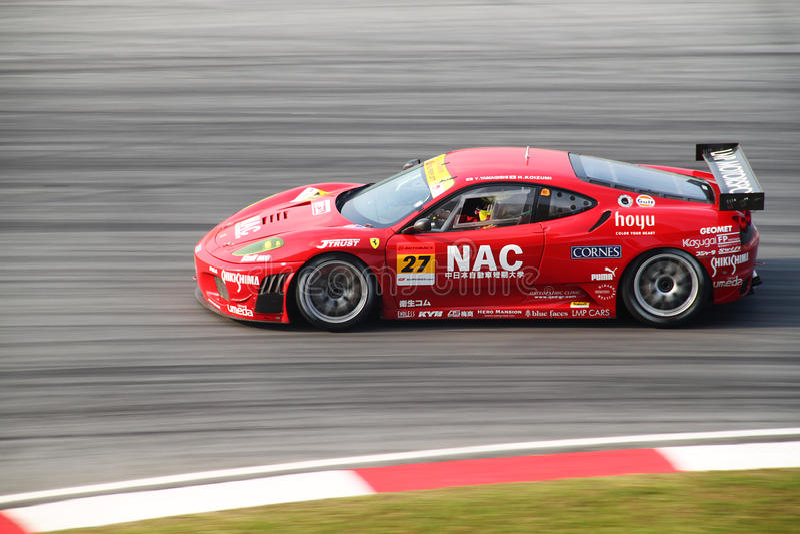 Download LMP Ferrari 27, SuperGT 2010 Editorial Photo - Image of speedy, race: 14853686