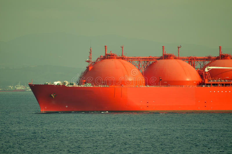 Download LNG ship for natural gas stock image. Image of anchor - 11113603