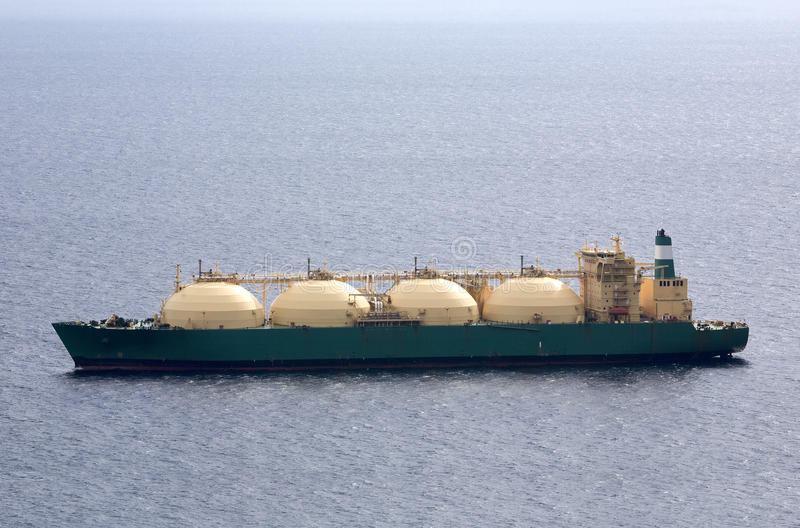 Download LNG Tanker stock photo. Image of carrier, industry, refinery - 10410008