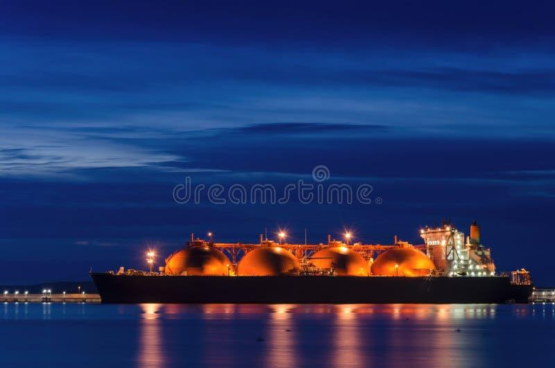 LNG tankowiec zdjęcia stock